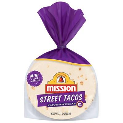 Mission Stree Taco Flour Tortillas - 11oz/12ct