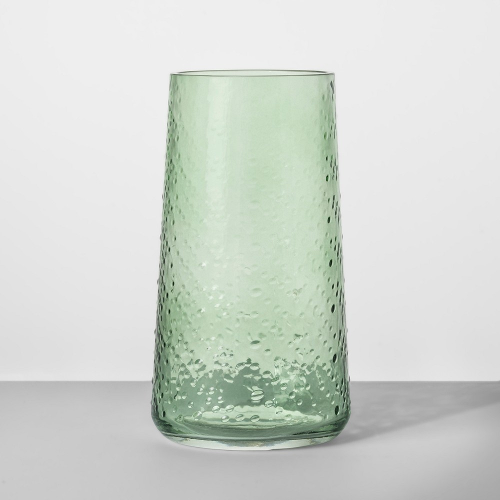 18.6oz Glass Tumbler Green - Opalhouse
