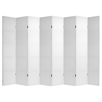 Do It Yourself 8 Panel Room Divider Canvas - Oriental Furniture