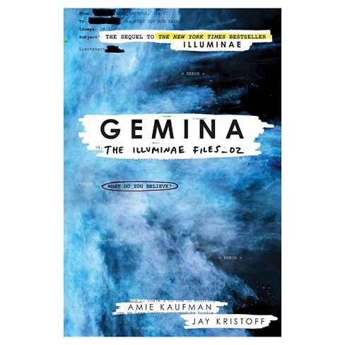 Gemina (The Illuminae Files Series #2) (Hardcover) (Signed) by Amie Kaufman, Jay Kristoff - image 1 of 1