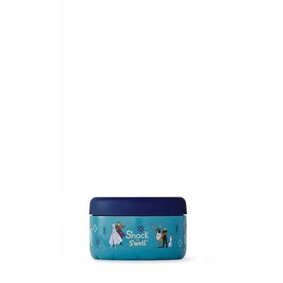 S'nack by S'well Disney Frozen 2 10oz Stainless Steel Food Container - Aqua