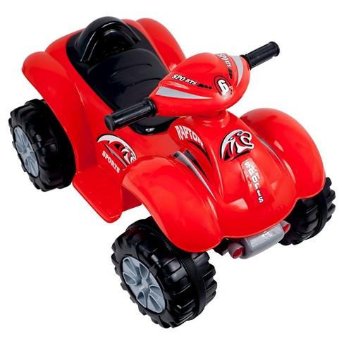 Lil' Rider Rally Racer Battery Powered 4x4 ATV Red - image 1 of 1