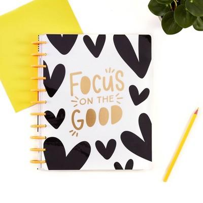 "2021-22 Academic Big 12 Month Teacher Planner 8.5"" x 11"" Focus On The Good - The Happy Planner"