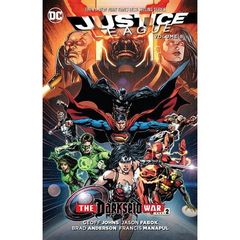 Justice League, Volume 8 - by  Geoff Johns (Paperback) - image 1 of 1