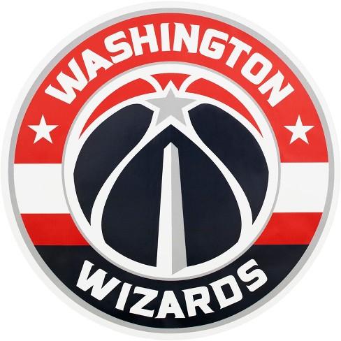 NBA Washington Wizards Large Outdoor Logo Decal - image 1 of 1