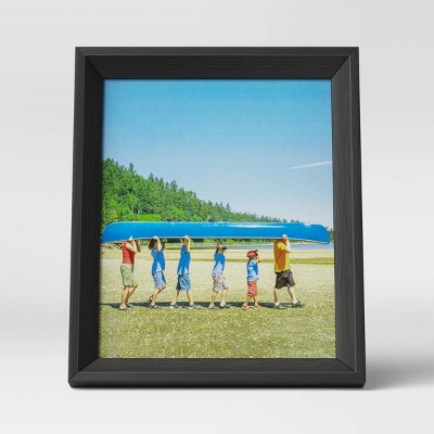 "8"" x 10"" Wedge Picture Frame Black - Room Essentials™"