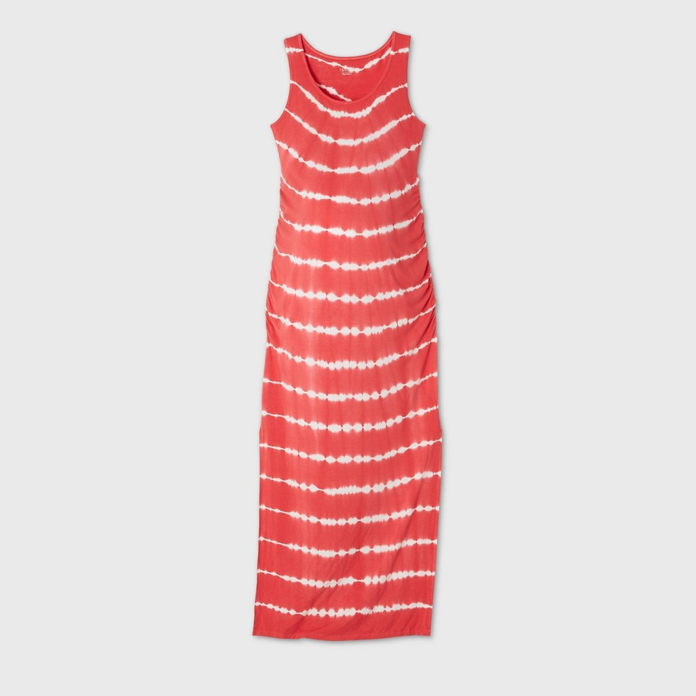 Maternity Printed Sleeveless Knit Dress - Isabel Maternity by Ingrid & Isabel Red XS was $27.99 now $10.0 (64.0% off)