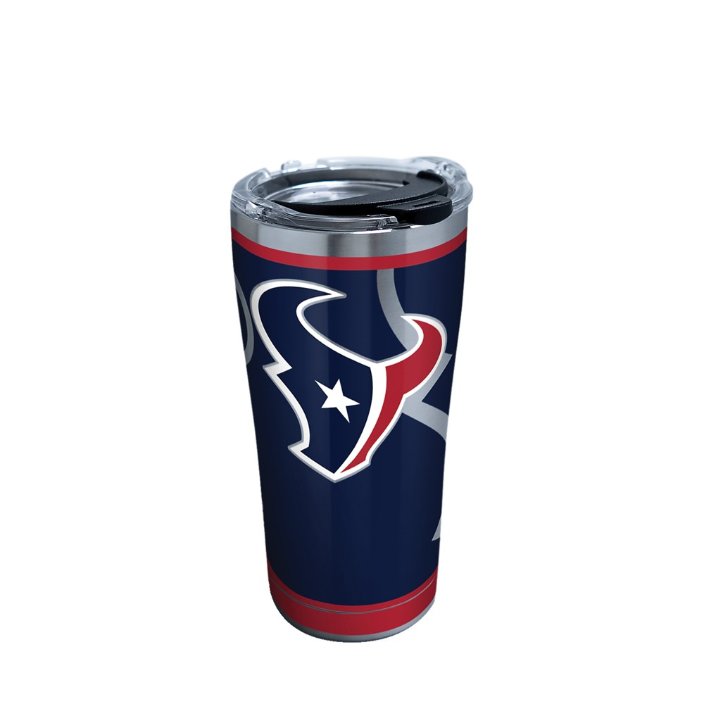 Tervis NFL Houston Texans Rush 20oz Stainless Steel Tumbler with lid