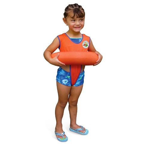Poolmaster Learn-To-Swim Tube Trainer - Orange - image 1 of 1
