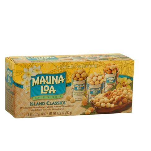 Mauna Loa Island Classics 3 Can Gift Collection - 13 5oz