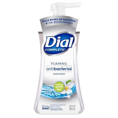 Dial Soothing White Tea Foaming Antibacterial Hand Wash - 10oz