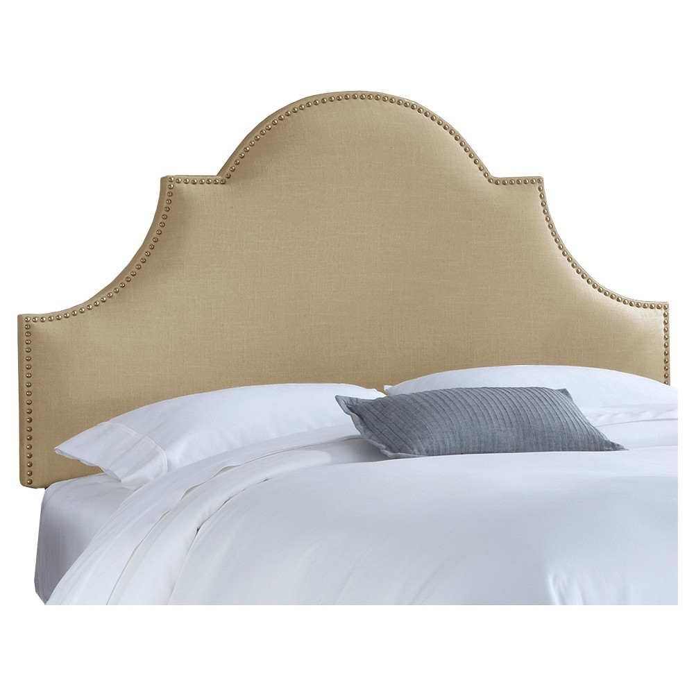 Chambers Headboard - Linen Sandstone (Full) - Skyline Furniture