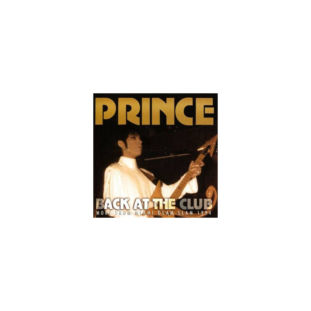 Prince - Back At The Club (CD)