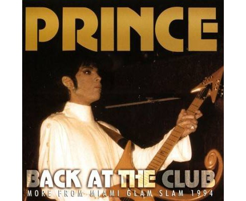 Prince - Back At The Club (CD) - image 1 of 1