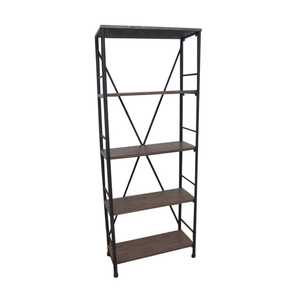 70 6 34 4 Shelf Bookshelf Brown Threshold 8482
