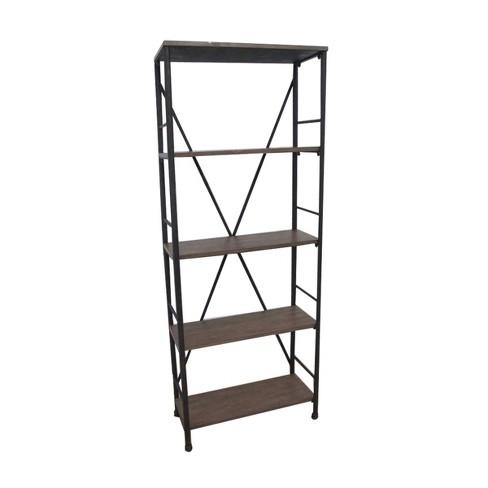 """70.6"""" 4 Shelf Bookshelf Brown - Threshold™ - image 1 of 3"""