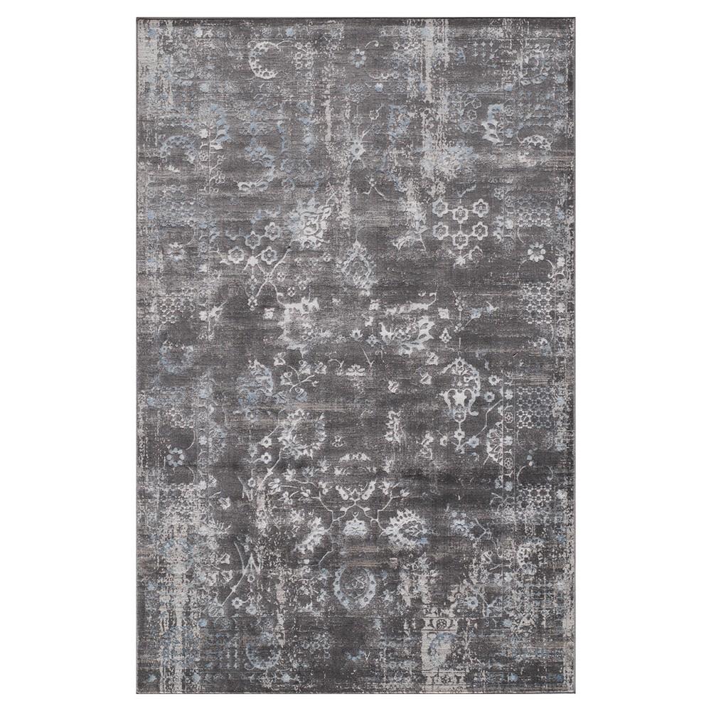 Regent Rug - Charcoal (Grey) - (8'6