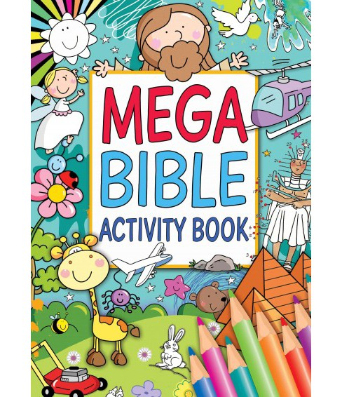 Mega Bible Activity Book (Paperback) - image 1 of 1