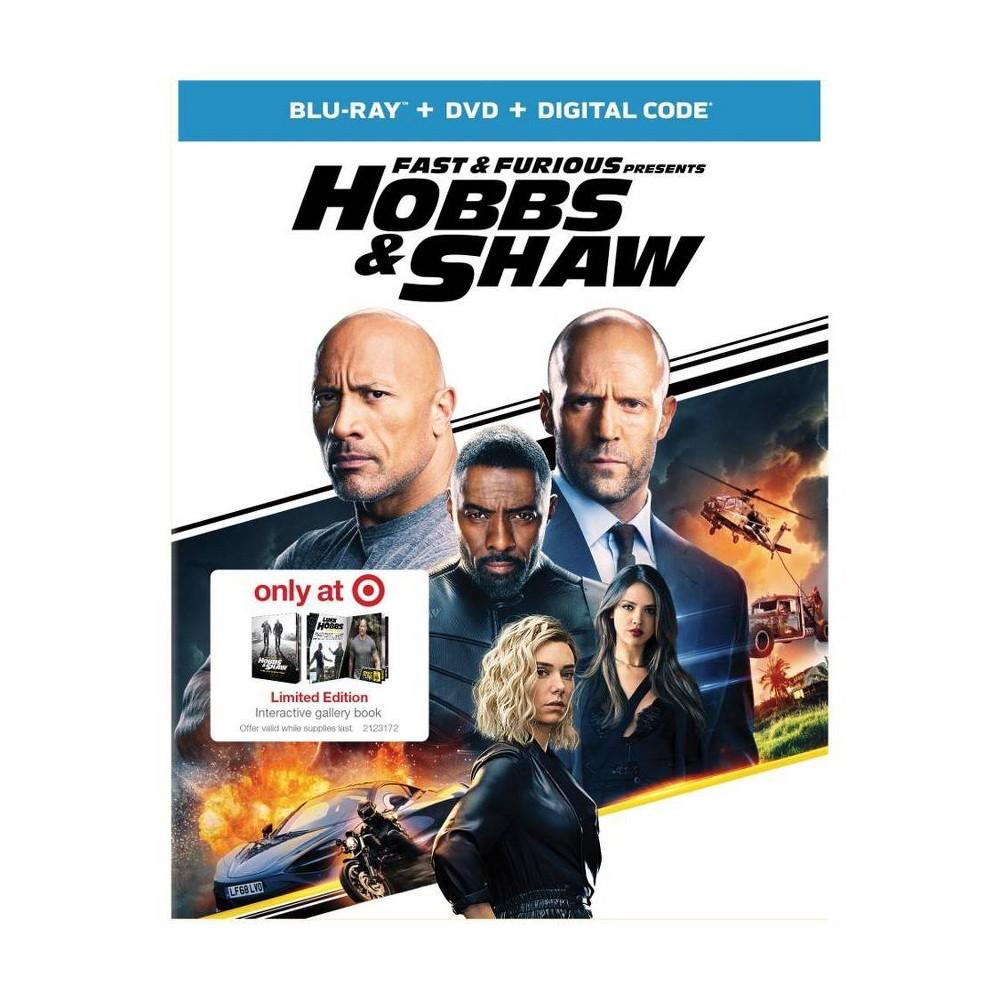 Fast & Furious Presents: Hobbs & Shaw (Target Exclusive) (Blu-Ray + DVD + Digital)