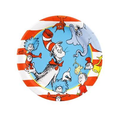 Dr. Seuss 8ct Dessert Plate