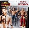 WWE Wrestlemania Battle Pack Seth Rollins vs The Miz Figure 2pk - image 4 of 4