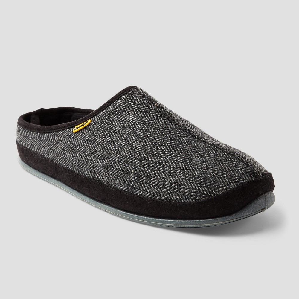 Men's Deer Stags Wherever Tweed Slippers - Black 15