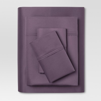 Performance Sheet Set (Queen)Purple 400 Thread Count - Threshold™