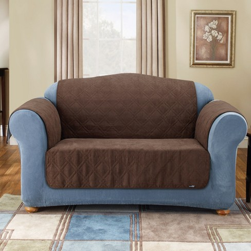 Furniture Friend Suede Sofa Slipcover Sure Fit Target