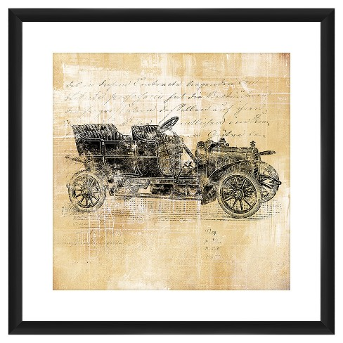 Vintage Ford Cars I  18X18 Wall Art - image 1 of 1