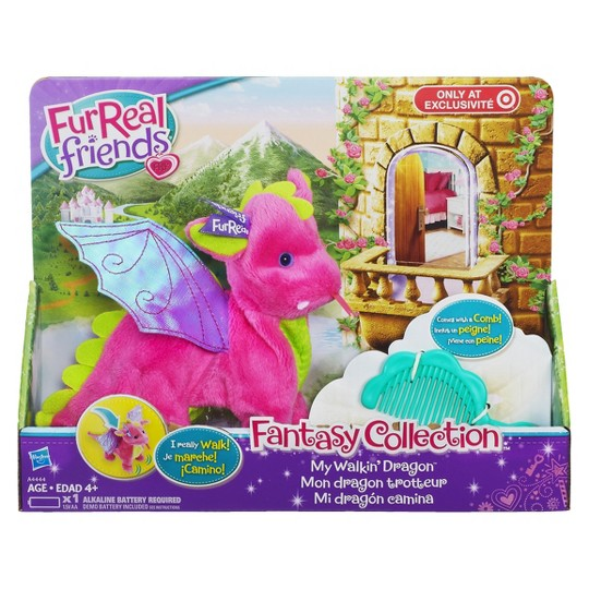 FurReal Friends Fantasy Collection: Skyheart My Walkin' Dragon Pet image number null