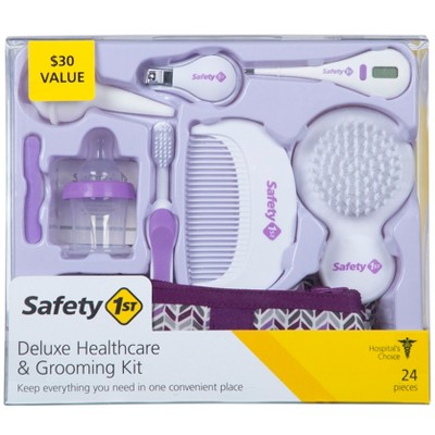 Safety 1st Deluxe Nursery Healthcare & Grooming Kit - Purple