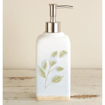 Lakeside Botanical Leaves Mechanical Hand Soap or Lotion Pump Dispenser