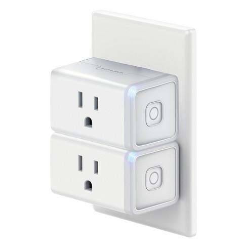 Tp Link Wi Fi Mini Smart Plug 2pk White Hs105 Kit Target