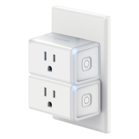 TP-Link Wi-Fi Mini Smart Plug- 2pk - White (HS105 KIT) : Target