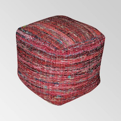 Cadieux Fabric Pouf - Christopher Knight Home