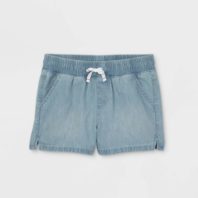Girls' Pull-On Jean Shorts - Cat & Jack™