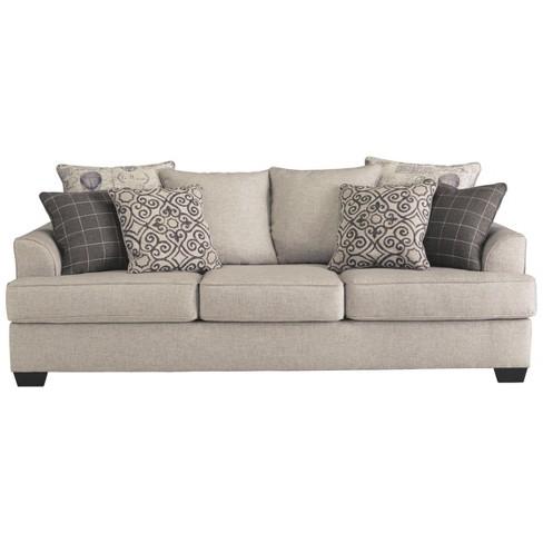 Wondrous Velletri Queen Sofa Sleeper Oatmeal Gray Signature Design By Ashley Interior Design Ideas Clesiryabchikinfo