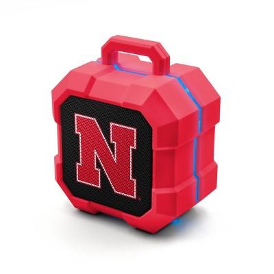NCAA Nebraska Cornhuskers LED Shock Box Bluetooth Speaker