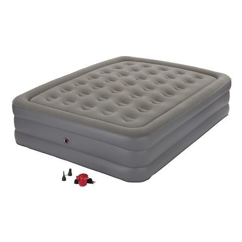 target coleman air mattress Coleman® GuestRest Double High Airbed with External Pump Queen  target coleman air mattress