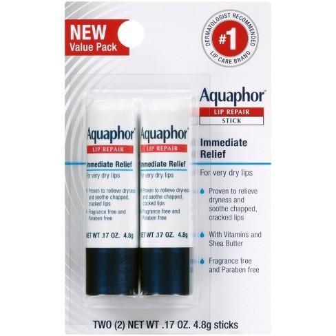 Aquaphor Lip Balm Repair Stick - 2ct - 0.17oz - image 1 of 4