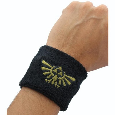 Loot Crate Legend of Zelda Hyrule Logo Terry Cloth Wristband