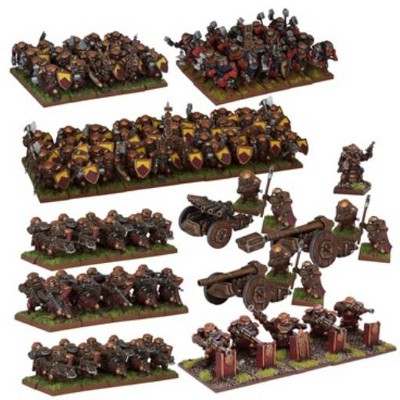 Dwarf Mega Army Miniatures Box Set