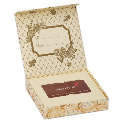 Gift Card Holder Box Lace - Papyrus