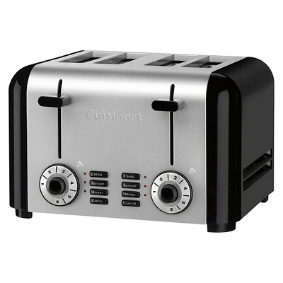 Cuisinart® 4 Slice Hybrid Toaster - Brushed Stainless Steel CPT-340