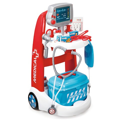 Smoby - Doctor Playset Trolley with Accessories and Sounds - image 1 of 3