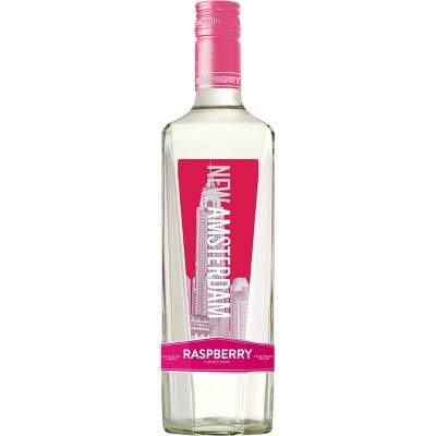 New Amsterdam Raspberry Flavored Vodka - 750ml Bottle