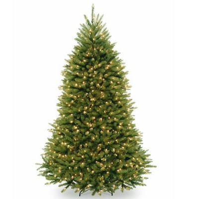 7.5ft National Tree Company Pre-Lit Dunhill Fir Hinged Full Artificial Tree with 750 Clear Lights & Powerconnect