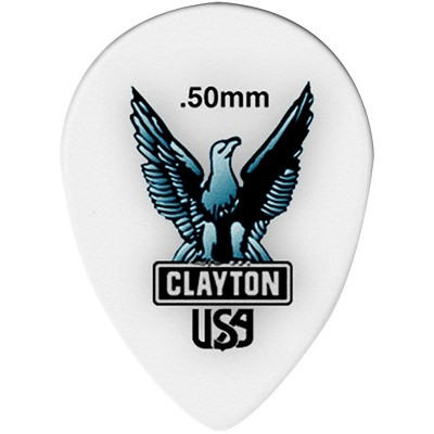Clayton Acetal Small Teardrop Guitar Picks