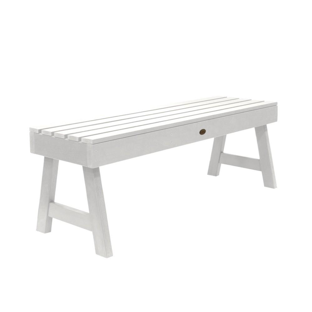 Weatherly Picnic Bench 4ft White - Highwood