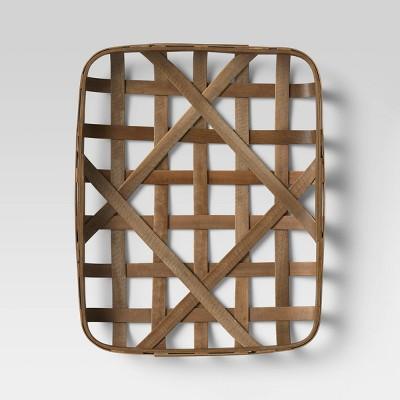 "16""x20"" Tobacco Basket Brown - Threshold™"